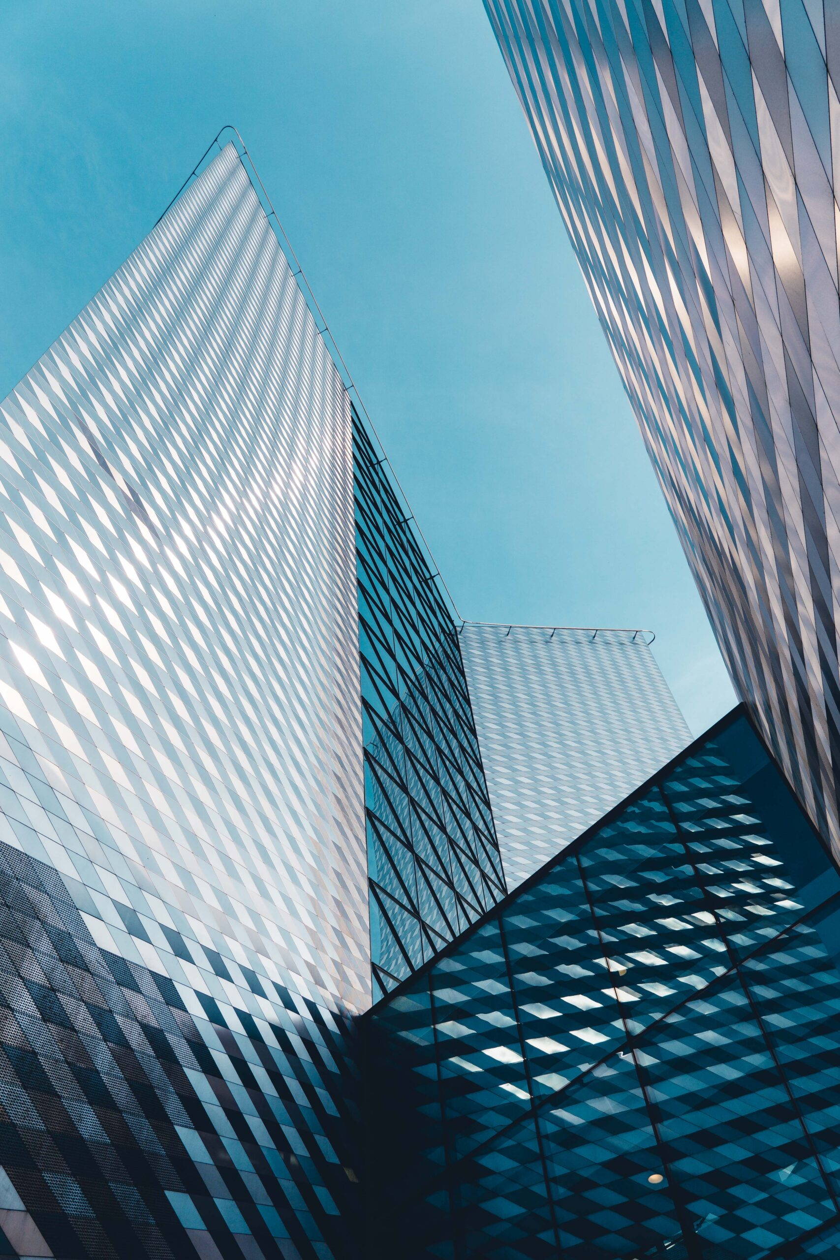 Abstract skyscrapers