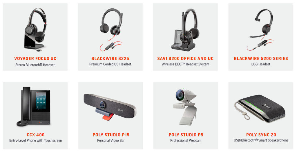 Poly Telephony Products